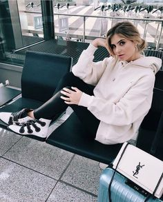 Airport style from @xeniaoverdose's closet
