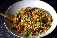 summer succotash with bacon and croutons – smitten kitchen