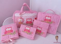 Sewing Projects, Projects To Try, Kit Bebe, Diaper Bag, Fabric, Baby, Fabric Tote Bags, Fabric Purses, Crochet Owl Purse