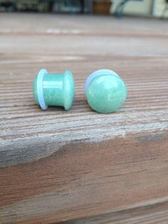 Single Flair Jade Aventurine Stone Plugs 8g 6g 4g 2g 00g by Tarqs