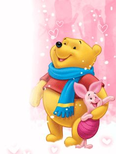 Animated Screensavers – Winnie The Pooh 15 Disney Winnie The Pooh, Winnie The Pooh Pictures, Winnie The Pooh Christmas, Winne The Pooh, Winnie The Pooh Quotes, Disney Christmas, Walt Disney, Disney Art, Disney Cartoon Characters