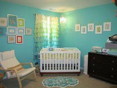 turquoise-nursery-room