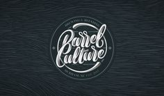 Barrel Culture - Logotype Design + 4K Timelapse on Behance