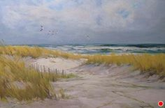 Riding the Eastwinds by Sandy Nelson Oil ~ 24 x 36