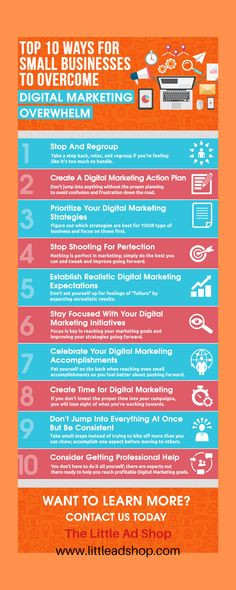 """For those seeking to conquer Digital Marketing overwhelm refer to this infographic. For more Small Business Digital Strategy Tips, We're Now Streaming On Your Favorite Alexa Device - SMB Digital Strategy Tips. Or, simply visit our blog, """"The Flash Briefing"""". Affiliate Marketing, Online Marketing, Social Media Marketing, Digital Marketing, Alexa Device, Social Proof, Business Video, Digital Strategy, Google Ads"""