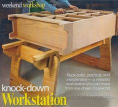 Multifunction Workshop Carts Plans - Workshop Solutions Projects, Tips and Tricks - Woodworking, Woodworking Plans, Woodworking Projects Woodworking Planer, Tool Workbench, Woodworking Shop, Woodworking Projects, Workbench Ideas, Handyman Projects, Assembly Table, Wood Shop Projects, Diy Home Repair