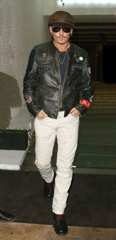 Johnny Depp of Hollywood Vampires attends party in London