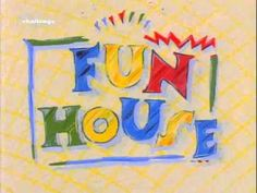 Fun House (UK) Opening and Closing Theme Tune (Clean) - YouTube