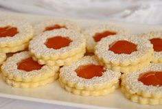 Citromhab: Linzer Cheesecake, Deserts, Food And Drink, Peach, Candy, Cookies, Recipes, Joker, Quotes