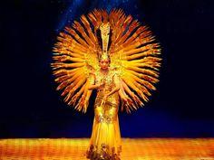 Fantástico momento da dança feita em comemoração ao Ano Novo Chinês, em…
