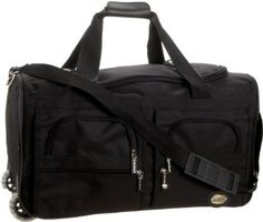 Rockland Luggage Rolling 22 Inch Duffle Bag