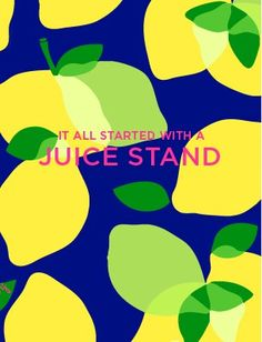 Lilly Pulitzer | It all started with a juice stand