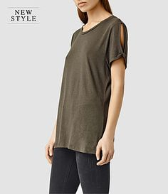ALLSAINTS UK: T-shirts for women, shop now.