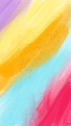 Rainbow Wallpaper, Iphone Background Wallpaper, Aesthetic Iphone Wallpaper, Colorful Wallpaper, Aesthetic Wallpapers, Cute Wallpaper Backgrounds, Love Wallpaper, Screen Wallpaper, Pattern Wallpaper