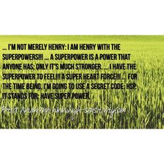Henry and his super heart force #hsp #hsc #highlysensitive #superheartforce #quotes #sensitivity #henry #empathy #introvert