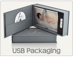 USB Gift Box Packaging for Photographers