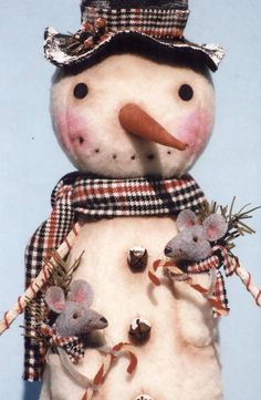 Your place to buy and sell all things handmade Primitive Snowmen, Primitive Folk Art, Primitive Christmas, Christmas Snowman, Christmas Ornaments, Christmas Trees, Snowman Decorations, Snowman Crafts, Christmas Crafts
