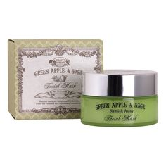 Green Apple and sage Pore Minimizing Facial Mask (No Paraben) *** Check out the image by visiting the link. #makeup