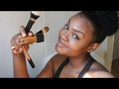 HOW TO: DRUGSTORE Contour,Highlight,+ Foundation for Black Women Makeup Tutorial 2015 ( DARK SKIN ) - YouTube
