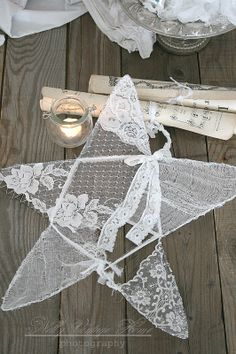 Paper Doilies Projects | ... Designs: Vintage Lace & Doilies: Upcycled and Repurposed