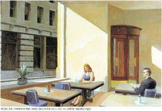 에드워드 호프 카페테리아의 햇빛