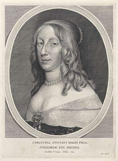 Portret van Christina, koningin van Zweden, Cornelis Visscher (II), 1650 1600-luku, Ruotsi, Kuvataide, Taiteilijat
