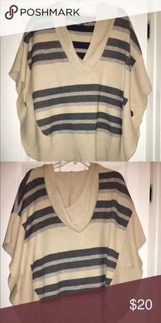 American Eagle Outfitters sweater Poncho style, size medium. American Eagle Outfitters Jackets & Coats
