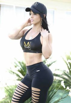 The girl is literally the queen of female bodybuilding