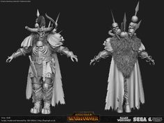 ArtStation - Total War: Warhammer - Krell, Baj Singh