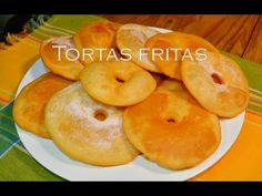 Torta Fritas Sin Gluten/Sin T.A.C.C/Para Celiacos - YouTube Sin Gluten, Gluten Free, Pan Dulce, Fritters, Bagel, Doughnut, Bread, Candy, Fruit