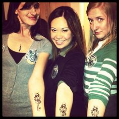 The Slytherins were branded with the Dark Mark! #kimjimisgettingmarried
