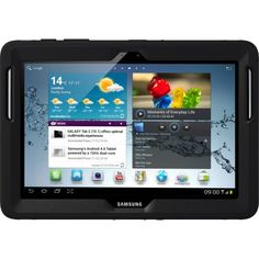 OtterBox Defender Series Case with Screen Protector and Stand for the 101Inch Samsung Galaxy Tab 2 Not for Tab A  Black >>> More info could be found at the image url.