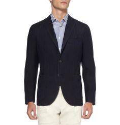 unstructured men's blazers | Boglioli Men's Unstructured Slim-Fit Lightweight Wool Blazer | Men's ...