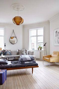 mid century modern furniture, nordic style