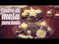 Centros de mesa para boda   decoración para bodas   iMujer Hogar - YouTube