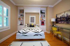 Stil ve Pratikliğe Sahip 25 Yaratıcı Yatak Odası-Çalışma Alanı Fikri - Ev Düzenleme Fikirleri