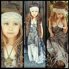 Whimsical Boho Clothing For Kids Hippie Style if I ever have