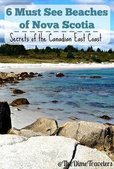 Nova Scotia, Canada travels - best kept secrets of the Canadian Coast. White sandy beaches for your next vacation! East Coast Travel, East Coast Road Trip, Alberta Canada, Canada Ontario, Cool Places To Visit, Places To Go, Nova Scotia Travel, Canadian Travel, Canadian Rockies