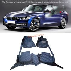87.00$  Buy here - http://aliv43.worldwells.pw/go.php?t=32765810042 - For BMW 3 Series F30 2013 2014 2015 2016 Right & Left Hand Drive Black Front Rear Floor Mat Carpets Pad cover