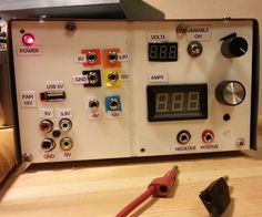 Super recycled benchtop power supply style