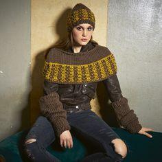Lana Grossa ARMSTULPEN MIT RIPPENBLENDEN Lei - RAGAZZA No. 6 - Modell 45 | FILATI.cc WebShop