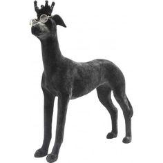Voilà un objet #déco en forme de #chien vraiment très original !  Déco Studiosus #Dog Floc #Kare #Design