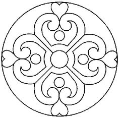 Mandalas To Paint Stained Glass Patterns, Mosaic Patterns, Embroidery Patterns, Quilt Patterns, Chinese Patterns, Mandala Coloring, Colouring Pages, Mandala Design, Mandala Art