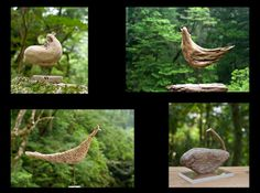 Birds of driftwood art-#1