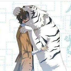 Atsushi will eat you, Dazai Anime Chibi, Anime Manga, Anime Guys, Anime Art, Manga Art, Stray Dogs Anime, Bongou Stray Dogs, Hotarubi No Mori, Dazai Osamu