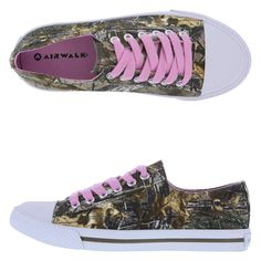 Women's Retro Oxford, Camo
