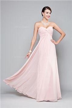 Empire Sweetheart Floor-length Chiffon Prom Dress