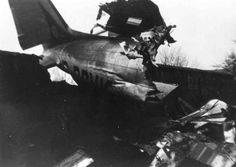 28 January 1956 - Douglas C-47 (F-BCYK) struck telephone lines and crashed while on approach to Bron Airport during a mail flight, killing the three crew.