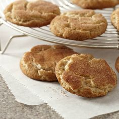 Double Cinnamon Sugar Cookies  Dress up the basic sugar cookie with a double dose of warm cinnamon spice.
