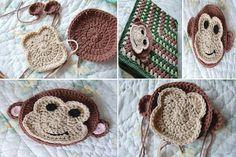 Crochet monkey ^^